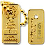Gold Ingot Micro Travel Tag